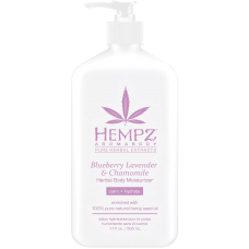 HEMPZ Blueberry Lavender & Chamomile Herbal Body Moisturizer Молочко для тела увлажняющее Лаванда, Ромашка и Дикие Ягоды