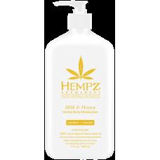 HEMPZ Milk & Honey Herbal Body Moisturizer Молочко для тела Мёд и Молоко