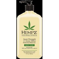 HEMPZ Sweet Pineapple & Honey Melon Herbal Body Moisturizer Молочко для тела Ананас и Медовая Дыня увлажняющее