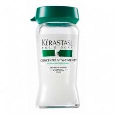 KERASTASE, Концентрат укрепляющий для ослабленных волос, 10*12 мл.