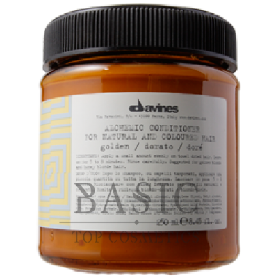 Davines Alchemic Conditioner For Natural And Coloured Hair Golden