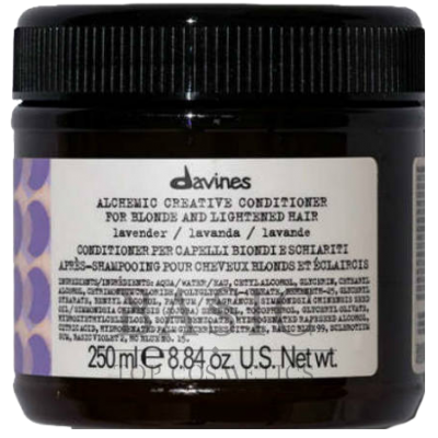 Davines Alchemic Creative Conditioner For Blond And Lightened Hair Lavender
