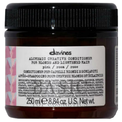 Davines Alchemic Creative Conditioner For Blond And Lightened Hair Pink