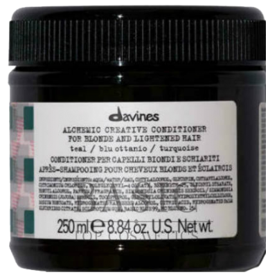 Davines Alchemic Creative Conditioner For Blond And Lightened Hair Teal