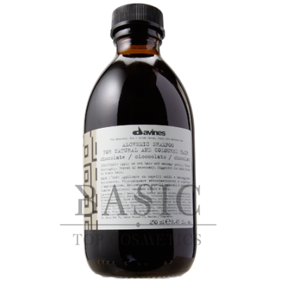 Davines Alchemic Shampoo For Natural And Coloured Hair Chocolate