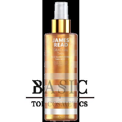 James Read Gradual Tan H2O Illuminating Body Mist