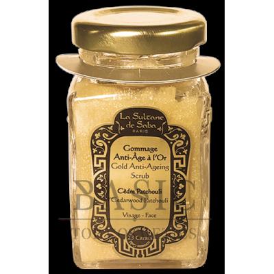 La Sultane De Saba 23 Carats Gold Anti-Ageing Scrub Cedarwood Patehouli