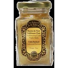La Sultane De Saba 23 Carats Sublimating Gold Night Balm Cedarwood Patehouli