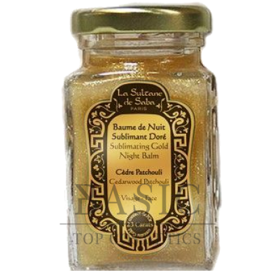 La Sultane De Saba 23 Carats Sublimating Gold Night Balm Cedarwood Patehouli