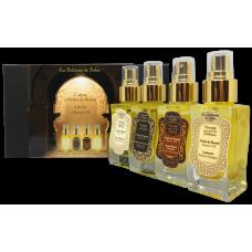 La Sultane De Saba Ayurvedic 4 Beauty Oil Gift Set