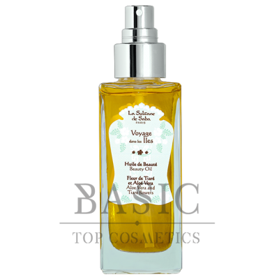 La Sultane De Saba Beauty Oil Aloe Vera and Tiare Flowers