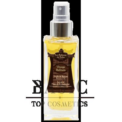 La Sultane De Saba Beauty Oil Lotus And Frangipani Flowers