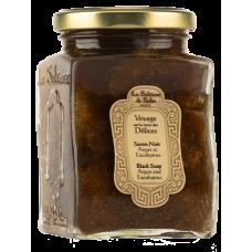 La Sultane De Saba Eucalyptus Black Soap With Argan