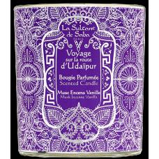 La Sultane De Saba Scented Candle Musk Incense Vanilla