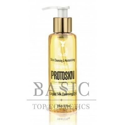 Масло гидрофильное для умывания и снятия макияжа / Protoskn Liquid Silk Cleansing Oil, 110 мл